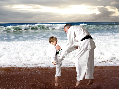 Fatherhood and the martial arts
